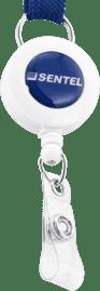 Retractable Badge Reel With Logo