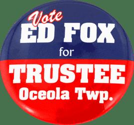 Vote Ed Fox
