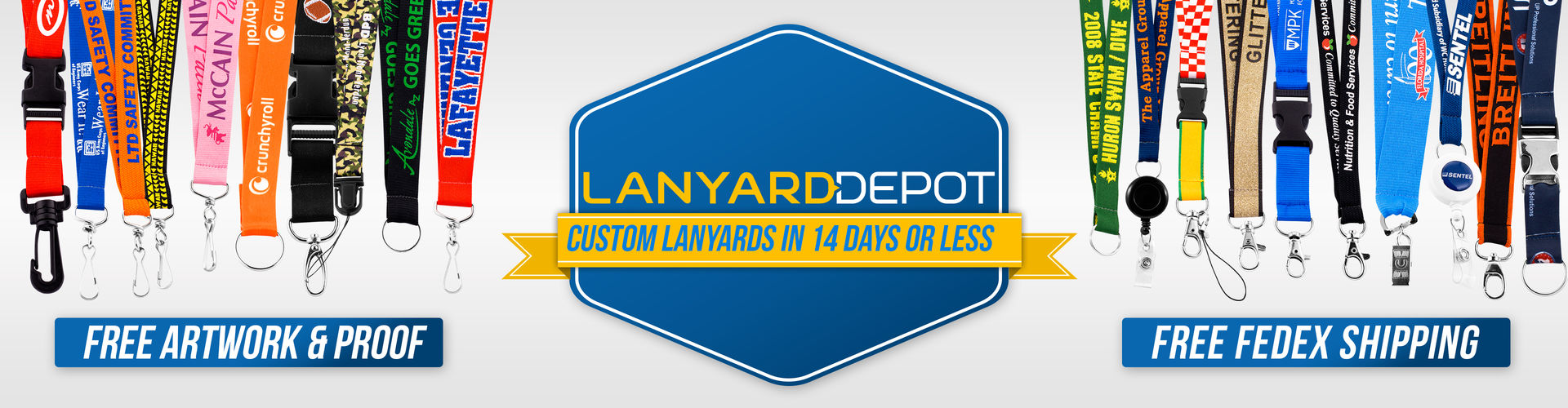 Lanyard Depot - Custom Lanyards in 14 Days or Less